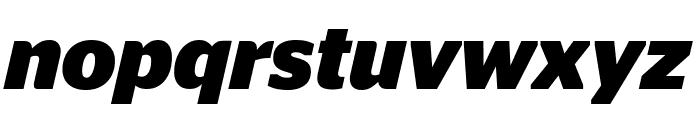 StagSans BoldItalic Font LOWERCASE