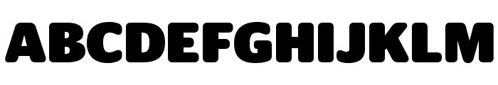 StagSansRound Black Font UPPERCASE