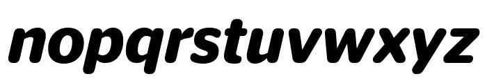 StagSansRound SemiboldItalic Font LOWERCASE