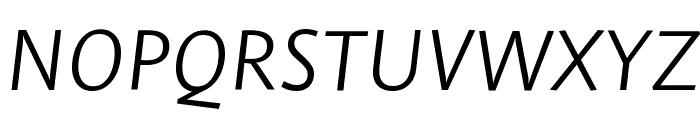 Stella LightItalic Font UPPERCASE