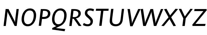Stella MediumItalic Font UPPERCASE