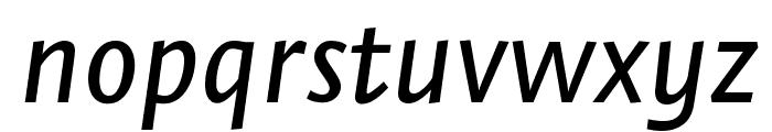 Stella MediumItalic Font LOWERCASE