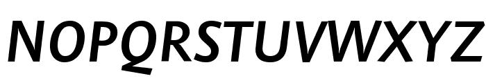 Stella SemiboldItalic Font UPPERCASE