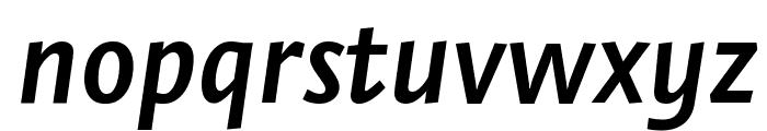 Stella SemiboldItalic Font LOWERCASE
