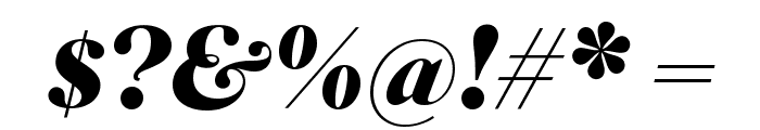 SuperiorTitle BlackItalic Font OTHER CHARS