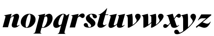 SuperiorTitle BlackItalic Font LOWERCASE
