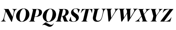 SuperiorTitle BoldItalic Font UPPERCASE