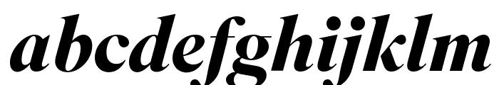 SuperiorTitle BoldItalic Font LOWERCASE