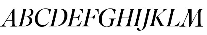 SuperiorTitle LightItalic Font UPPERCASE