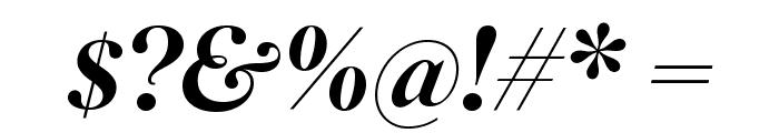 SuperiorTitle MediumItalic Font OTHER CHARS