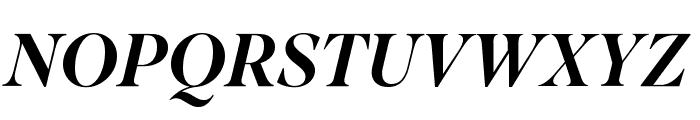 SuperiorTitle MediumItalic Font UPPERCASE