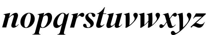 SuperiorTitle MediumItalic Font LOWERCASE