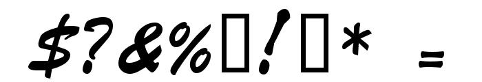 VNI-Butlong Font OTHER CHARS