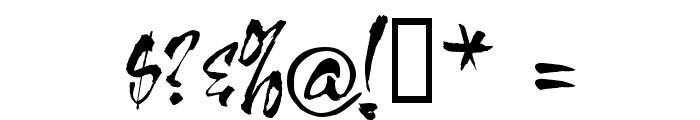 VNI-OngDoHL Font OTHER CHARS