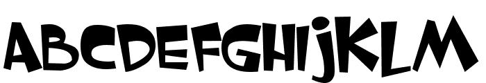 VNI-Whimsy Font UPPERCASE
