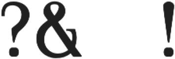 VOGU Regular otf (400) Font OTHER CHARS
