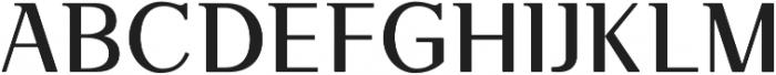 VOGU Regular otf (400) Font LOWERCASE