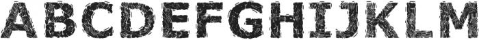 VOLOSorganicfont ttf (400) Font UPPERCASE