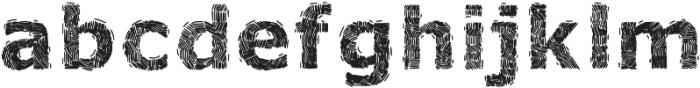 VOLOSorganicfont ttf (400) Font LOWERCASE