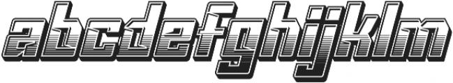 VORG lyd Regular ttf (400) Font LOWERCASE
