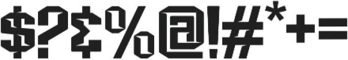 VORGstd Regular otf (400) Font OTHER CHARS