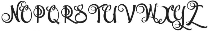 Volcano otf (400) Font UPPERCASE