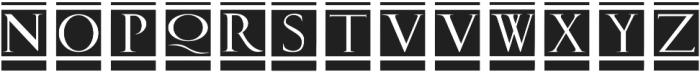 Volitiva Regular ttf (400) Font UPPERCASE
