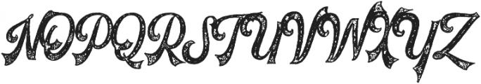 Voltury Voltury-Textured otf (400) Font UPPERCASE