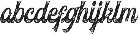 Voltury Voltury-Textured otf (400) Font LOWERCASE