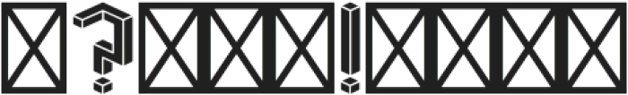 Volume Font otf (400) Font OTHER CHARS