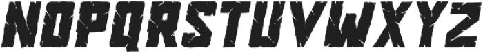 Vorhell Italic otf (400) Font UPPERCASE