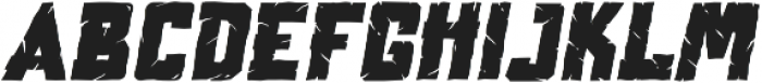Vorhell Italic otf (400) Font LOWERCASE