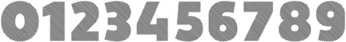 Vourla Fat Stripe otf (800) Font OTHER CHARS