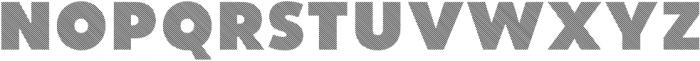 Vourla Fat Stripe otf (800) Font UPPERCASE
