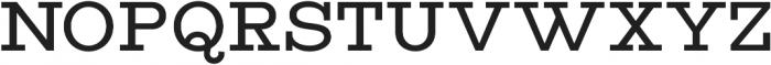 Vourla Serif otf (400) Font UPPERCASE