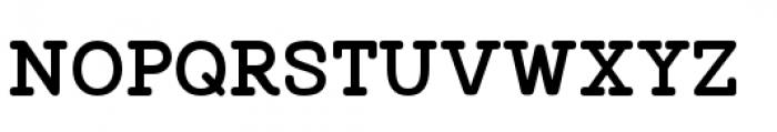 Vodka Slab Regular Font UPPERCASE