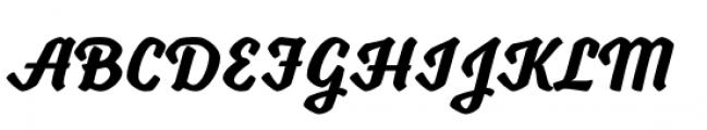 Voltage Bold Font UPPERCASE