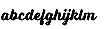 Voltage Bold Font LOWERCASE