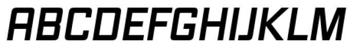 Vox Pro Bold Italic Font UPPERCASE