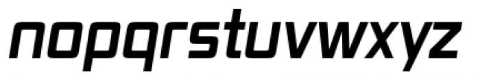 Vox Pro Bold Italic Font LOWERCASE