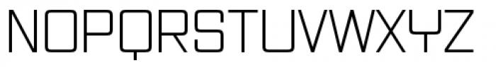 Vox Pro Light Regular Font UPPERCASE