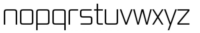 Vox Pro Light Regular Font LOWERCASE