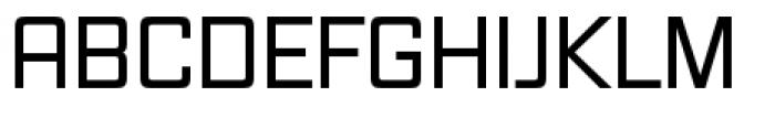 Vox Pro Regular Font UPPERCASE