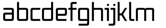 Vox Pro Regular Font LOWERCASE
