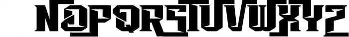 Vorg typeface 1 Font UPPERCASE