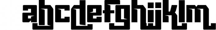 Vorg typeface 1 Font LOWERCASE