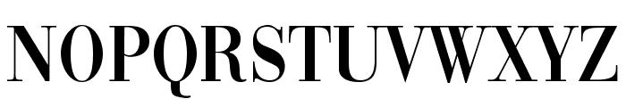 Vogue Regular Font UPPERCASE