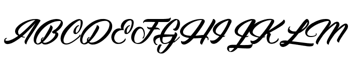 Voice of the Highlander Font UPPERCASE