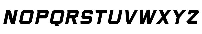 VoiceActivatedBB-BoldItalic Font UPPERCASE