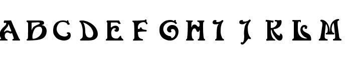 Volan Font UPPERCASE